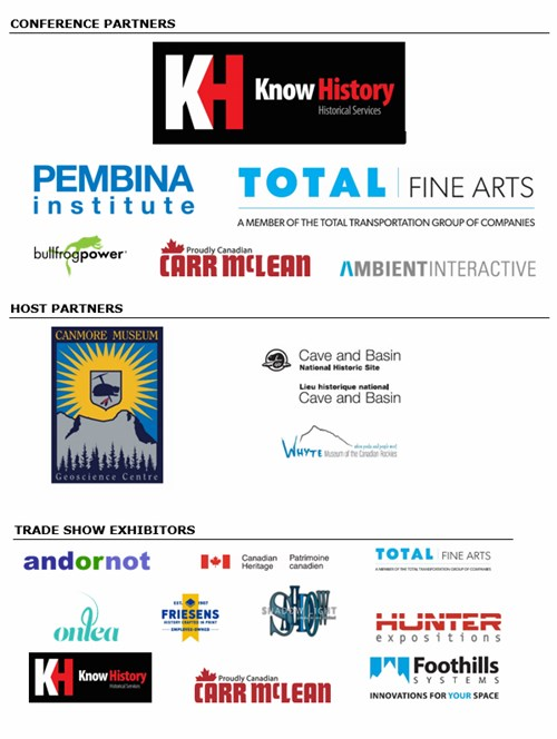 Conference and Trade Show partners all logos - July 27